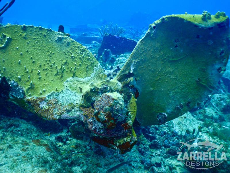 """""""The Propeller"""" (Lucy's Barge, St. Maarten)"""