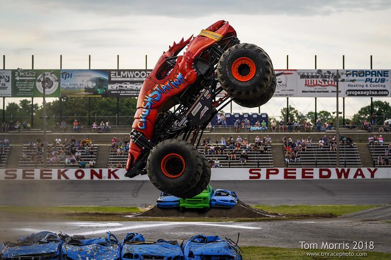 Seekonk Speedway Monster Truck Meltdown 7/21/18
