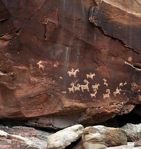 Pictograms and Petroglyphs of Utah