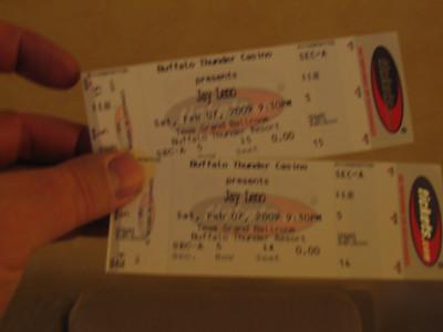 Buffalo Thunder- Jay Leno