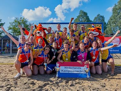 Molecaten NK Beach Handball 2016 Prijsuitreiking