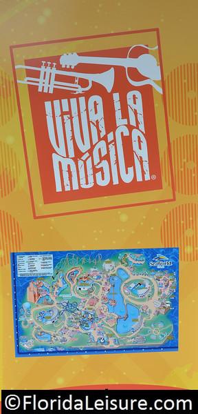 Viva la Música at SeaWorld Orlando