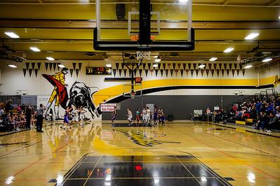 170203 GHS Freshman Men's Basketball (Amador Valley)