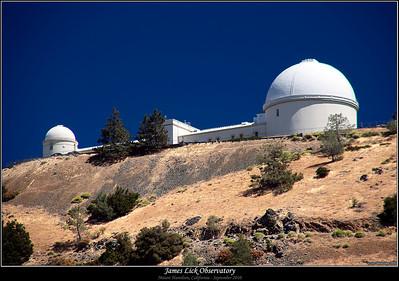 James Lick Observatory, Mt Hamilton (September 2010)