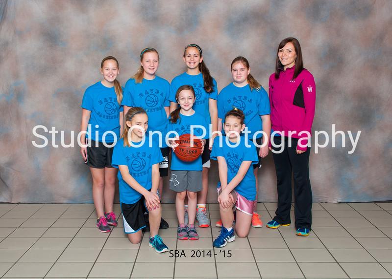 SBA Bball teams 2014-'15
