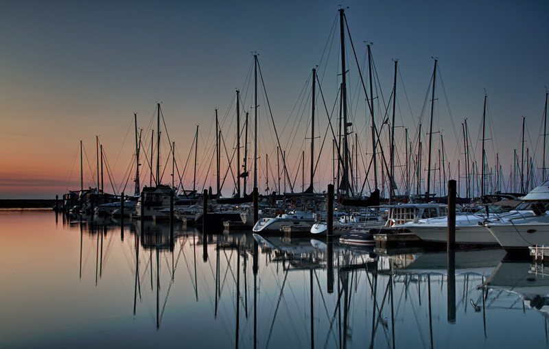 DuSable Harbor Dawn