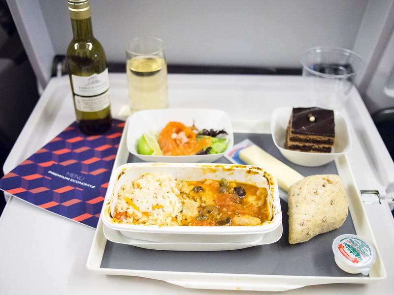 Air France Premium economy meal 3.jpg