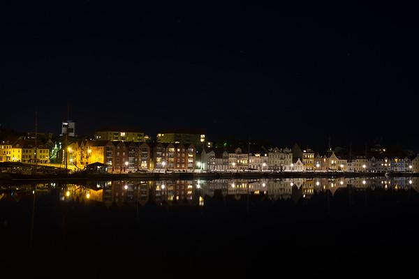 Sønderborg by Night - Set fra den kristlige side.