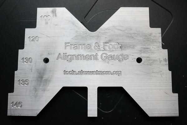 Frame and Fork Alignment Gauge