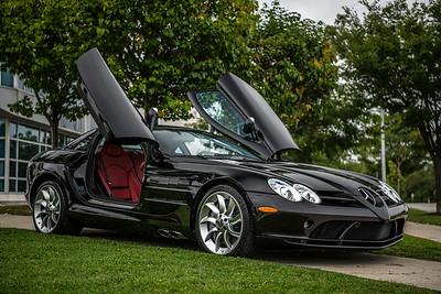Mercedes SLR McLaren Black