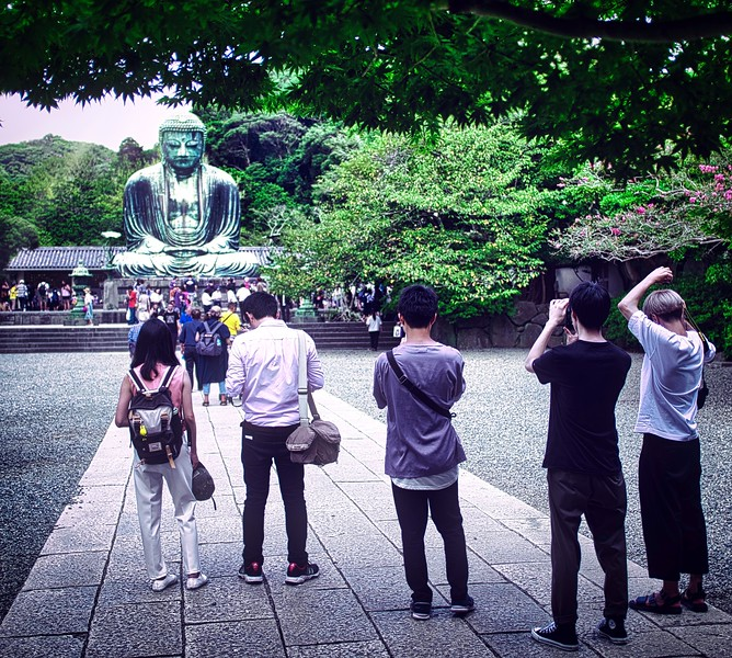 Seeing the Great Buddha for the first time