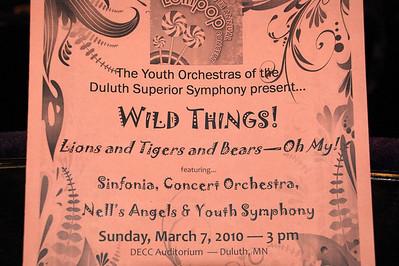 2010 03 07:  Lollipop Concert, Federica, Wild Things