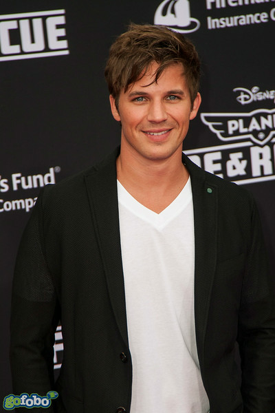 HOLLYWOOD, CA - JULY 15: Actor Matt Lanter attends the premiere of Disney's 'Planes: Fire & Rescue' at the El Capitan Theatre on Tuesday July 15, 2014 in Hollywood, California. (Photo by Tom Sorensen/Moovieboy Pictures)