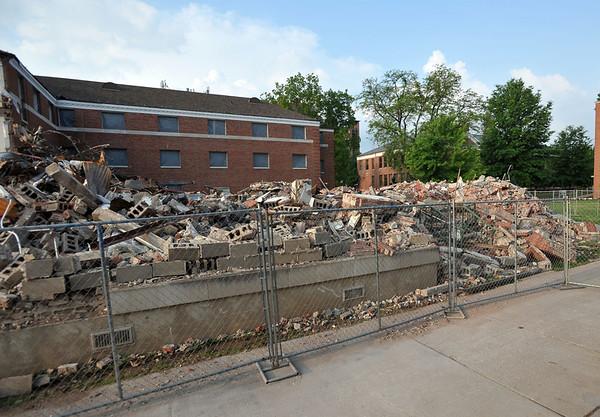 Hodges Hall Demolition-5-20-2013