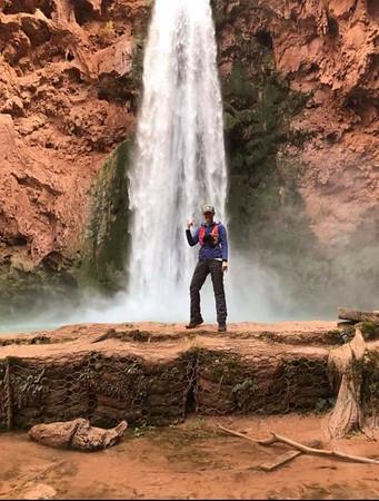 Jen Havasupai Falls November 2017