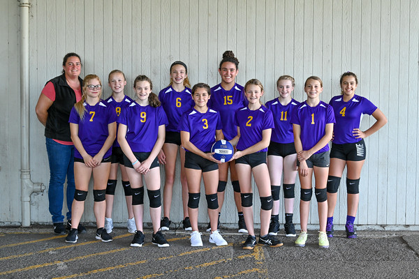 Millicoma Intermediate School Volleyball 2019