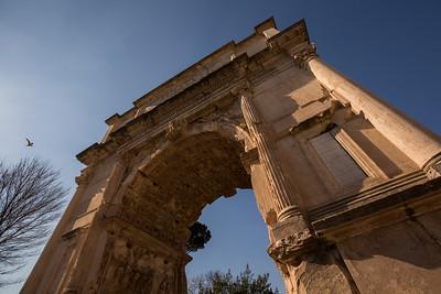 Roman Furum - inside