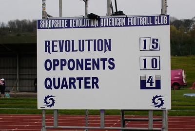 Shropshire Revolution vs Lancashire Wolverines 18th April 2010