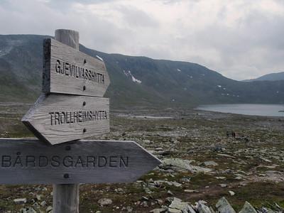 Fottur i Trollheimen: Trekanten
