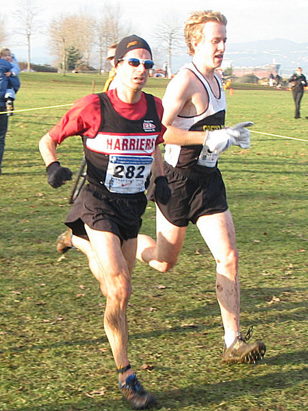 2005 Canadian XC Championships - Deacon had a rough day and bailed three times!