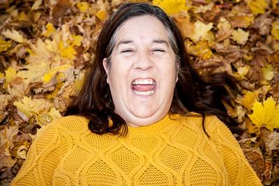 Janet In Leaves