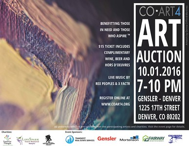 October 2016 :: CoArt Charity Auction