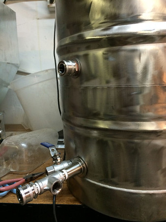 Custom Hot Liquor Tank