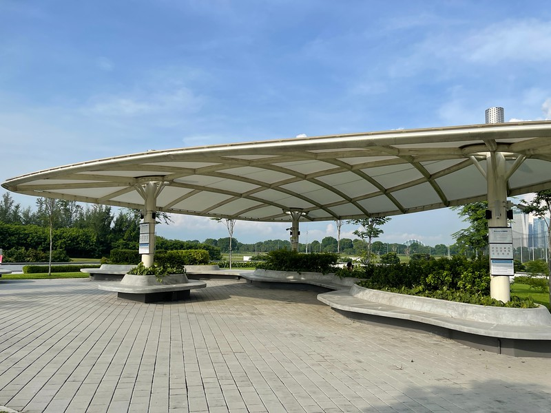 Keppel Marina East Desalination Plant Roof Top Garden