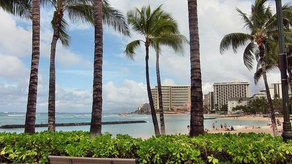 Outrigger Waikiki and Waikiki Scenes-April 2011