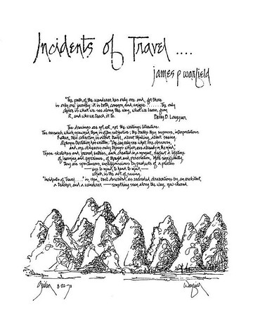 Incidents of Travel.....