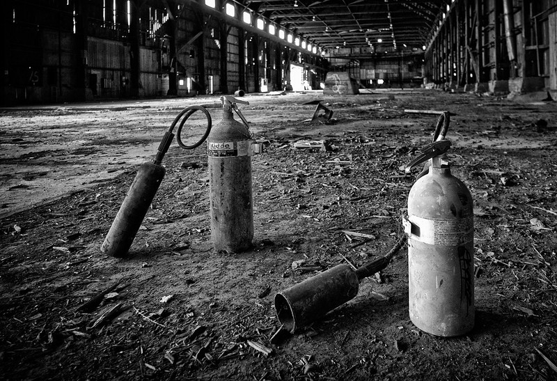 Extinguish  Lumber Mill, McCloud, CA