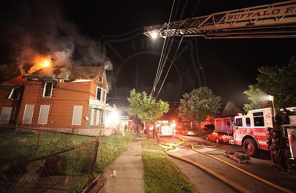 Buffalo, NY - Working Fire - 26 Hawley - July 4, 2011