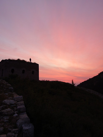 Great wall camping trip in Beijing