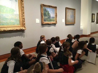 Fourth Grade  visits Princeton Art Museum
