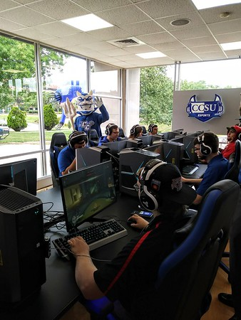 CCSU Esports students gaming