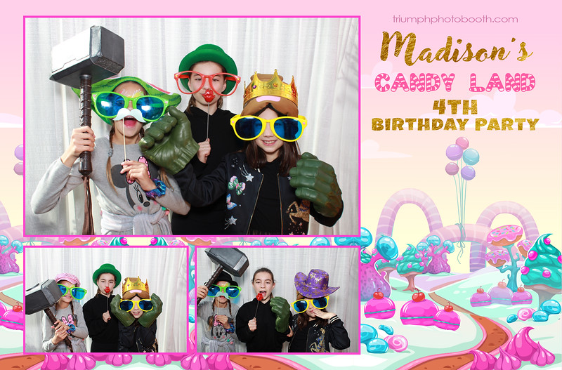 3/1/20 - Madison's 4th Birthday