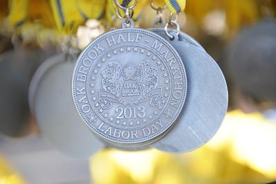 Oak Brook Half Marathon - Finish Line