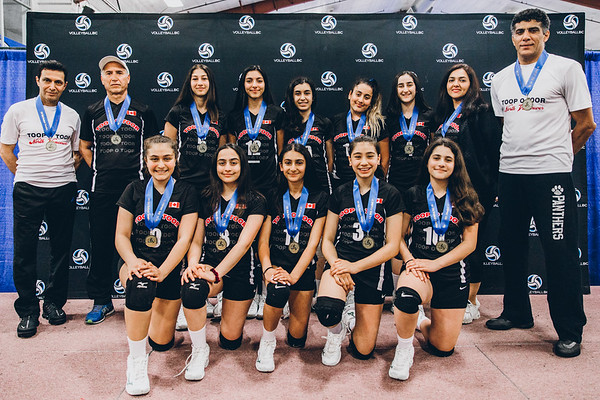 2019 Club Provincial Championships - 13U Girls Medals