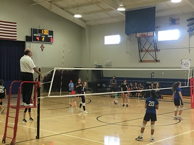 WVMS Volleyball at Thomas More 2018