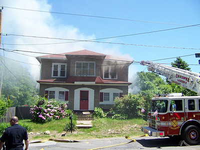 Chicopee, MA 2nd alarm 17 Wilmont St.  6/1/09