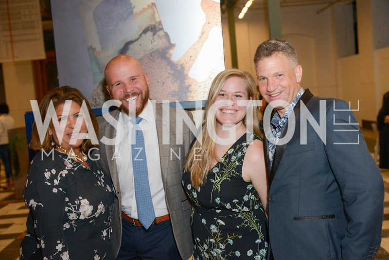 Candice Lang, Paul Ashe, Elizabeth Denholm, Barry Ivan Silber, By The People, Arts Festival, Smithsonian Arts and Industries Building, June 14th, 2019.  Photo by Ben Droz.