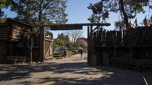 Disneyland Resort, Disneyland, Frontierland, Stockade, Fort, Entrance