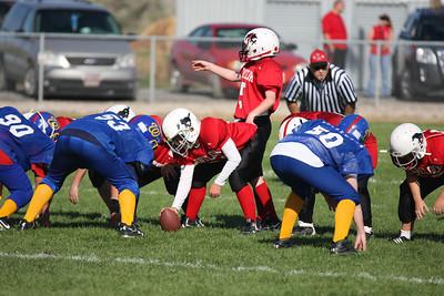 2010-10-09 Youth f-ball Red vs Winn. Blue