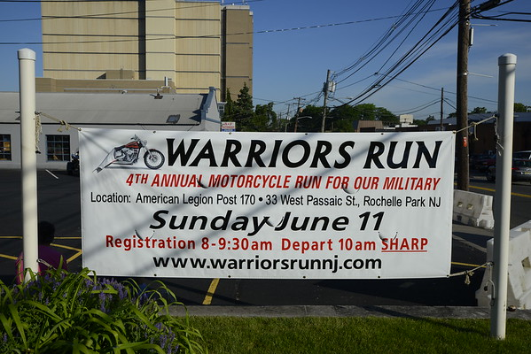 Warrior's Run, Inc's 4th Annual Motorcycle Run 2017