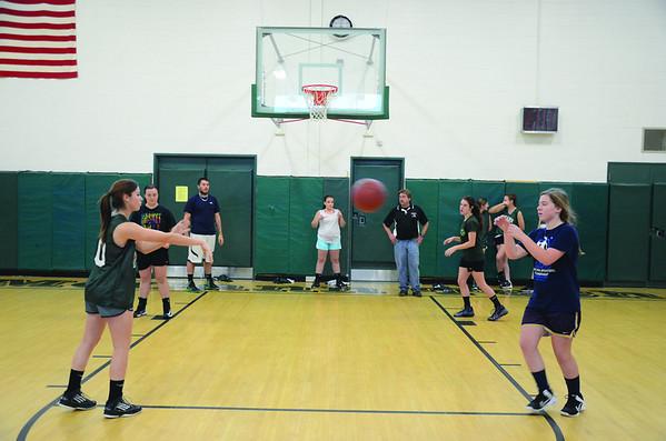 McCann Girls basketball practice