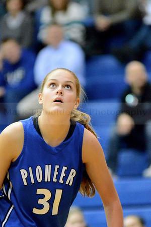 Lampeter-Strasburg Girl's Varsity Basketball v. MT 2.10.14 (League Quarters) (Half Game)