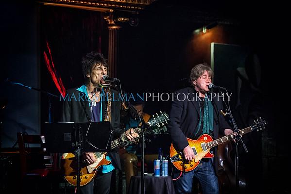 Ron Wood & Mick Taylor @ Cutting Room (Sat 11/9/13)
