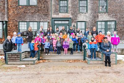 Sayville Kindergarten Class School Outing - Connetquot River State Park Preserve 12-13-19
