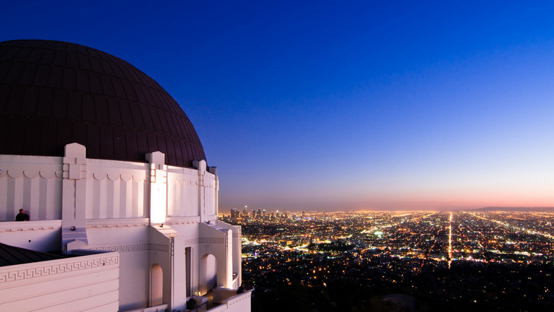 Afternoon at Griffith Observatory