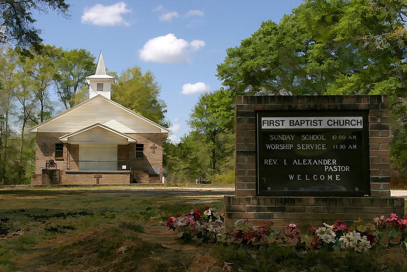 First Baptist Church, Thomaston, Alabama